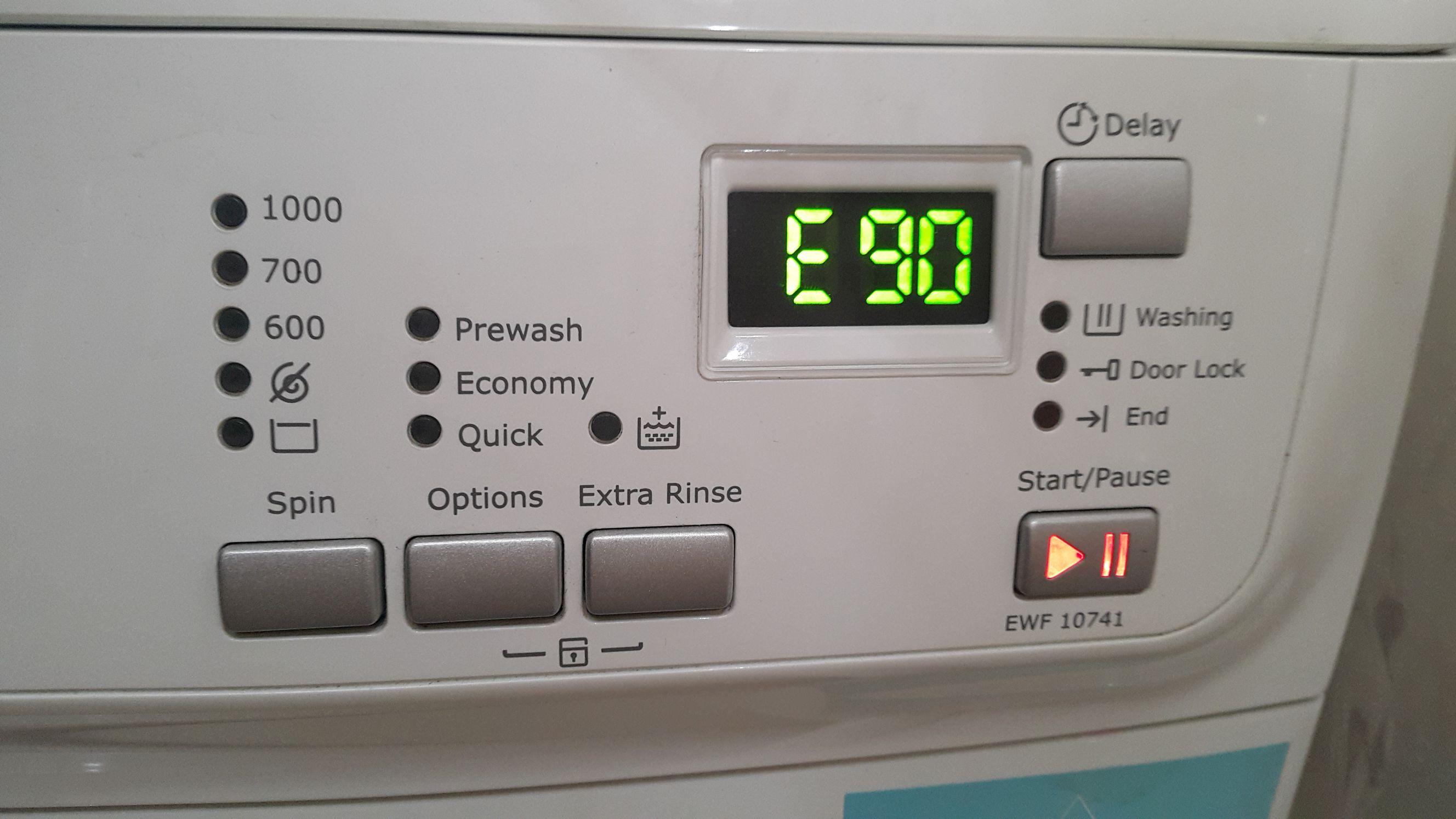Indesit mosógép hiba